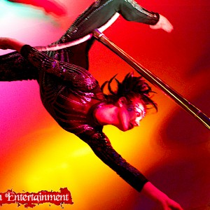 circus aerial performer hire uk