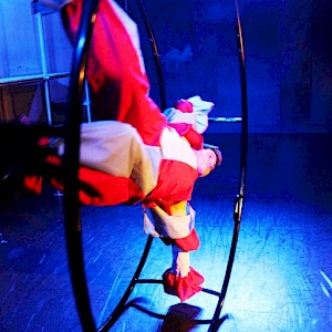 German wheel performer hire uk