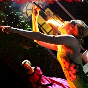 circus fire eater hire