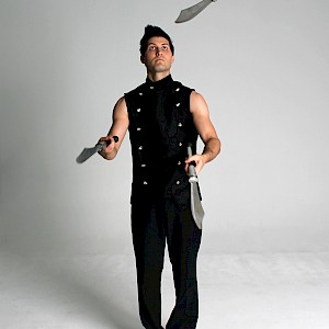 knife juggler hire uk