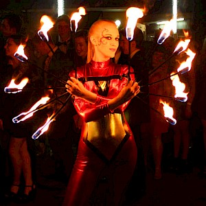hire circus performers london