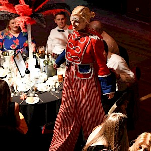 circus stilt walker hire uk