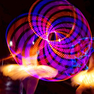 london LED circus hire