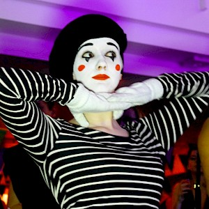 mime performer hire uk