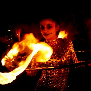 circus fire performer uk