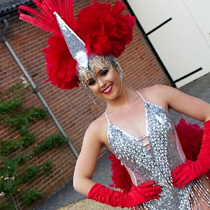 hire circus showgirl dancer