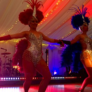 hire circus dancers entertainment