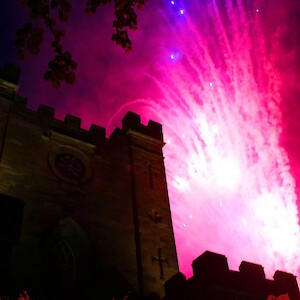 firework show hire uk