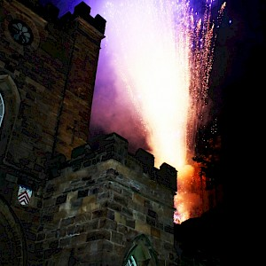 fireworks show hire uk