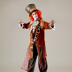 mad hatter stilt walker hire uk