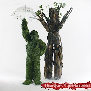 Enchanted woodland stilt walker hire uk