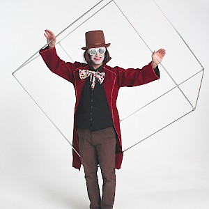 Willy wonka juggling cube