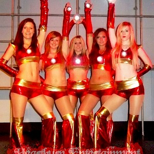 Iron Man themed dancers hire