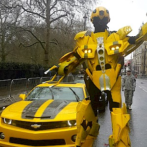 american transformer robot hire
