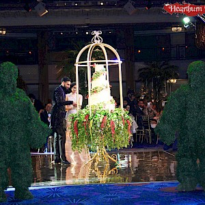 enchanted woodland topiary statues hire uk