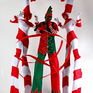 stilt walkers austria hire