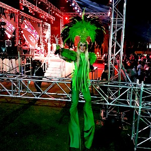rio carnival stilt walker hire uk