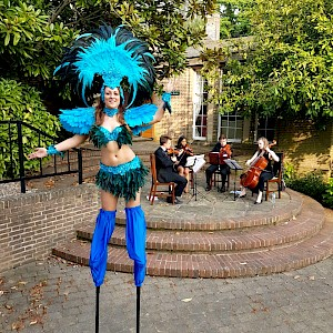 rio stilt walker hire uk