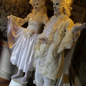 Bat Mitzvah living statue hire uk