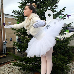 nutcracker clockork bellerina hire uk