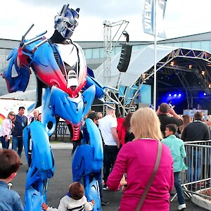hire a real life transformer uk