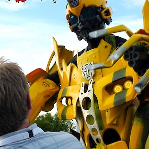 real uk transformer robot hire