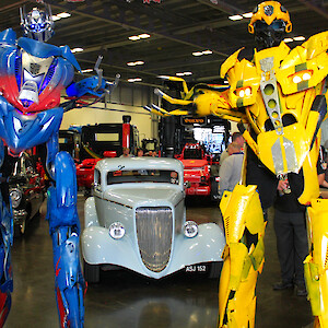 real life transformers robots hire uk