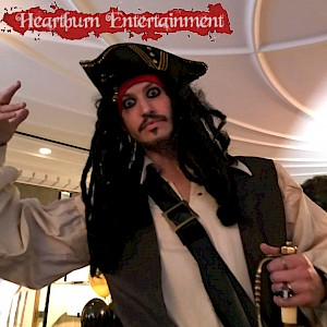 pirate event actor hire