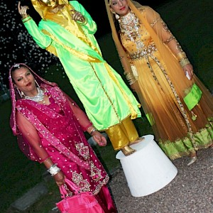 indian wedding living statue hire uk