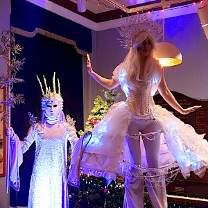 hire winter wonderland themed performers