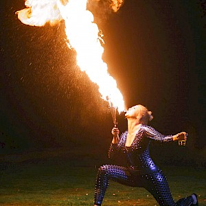 caribbean fire performers hire uk