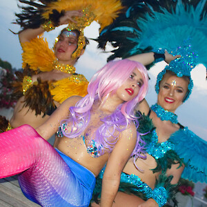 hire a real mermaid for events