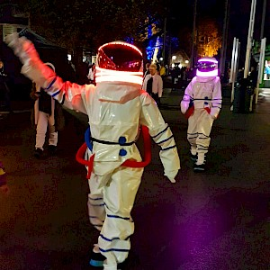 spaceman themed entertainment
